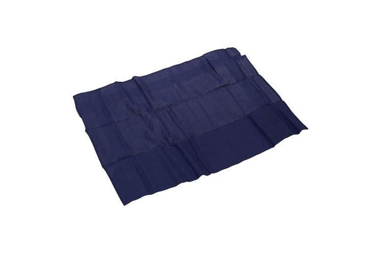 Tom Franks Mens Cotton Handkerchiefs (Pack Of 4) (Blue) (40 x 40cm)
