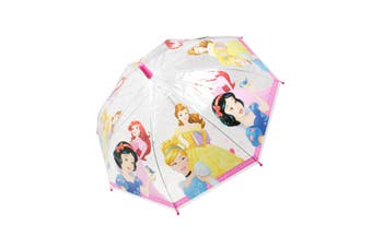 Disney Princess Childrens/Kids Stick Umbrella (Pink) (One Size)