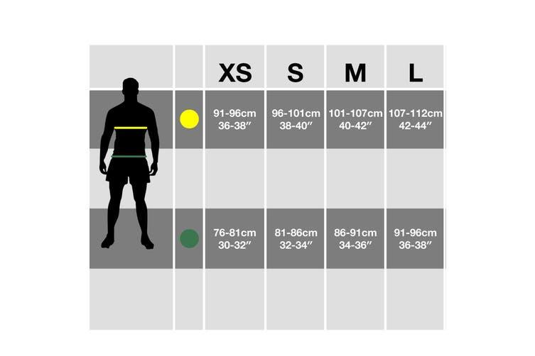 Brave Soul Mens Check Loungewear Set (Black) (M)