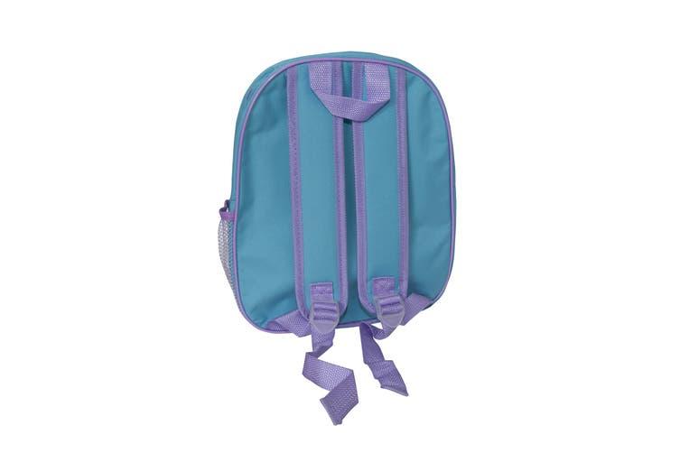 Frozen II Childrens Girls Backpack (Blue) (One Size)