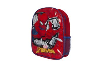 Spider-Man Childrens/Kids Backpack (Red) (One size)