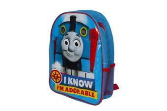 Thomas & Friends Childrens/Kids I Know Im Adorable Backpack (Blue) (One Size)