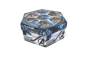 Avengers Childrens/Kids Hexagon 40 Piece Colouring Case (Blue) (One Size)