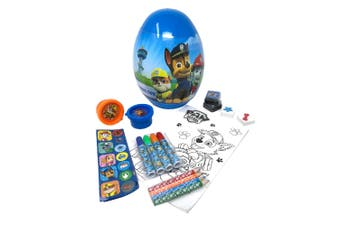 Paw Patrol Childrens/Kids Egg Shaped Stationery Set (Blue) (One Size)