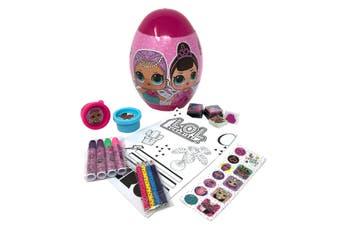 Lol Surprise! Childrens/Kids Egg Stationery Set (Pink) (One Size)
