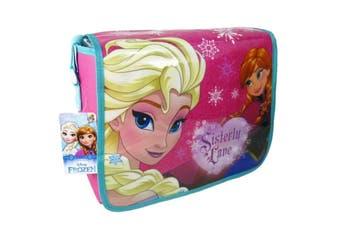 Frozen Childrens/Kids Sisterly Love Messenger Bag (Pink) (One Size)