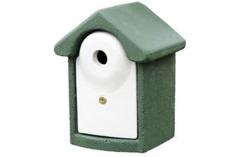 C J WoodStone Durable Nest Box (Green) - UTVP1273