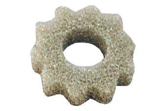 Hydor Bioflo Water Deflecting Aerobic Filter Pump Refill Sponge (Silver) (Large)