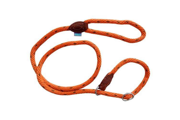 Dog & Co Supersoft Rope Dog Walking Slip Lead (Orange) (14mm x 150cm)