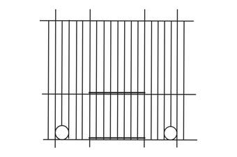 Pennine Canary Bird Cage Front (45cm X 25cm) (Silver) (One Size)