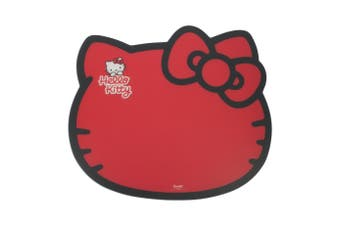 Hello Kitty Pet Feeding Mat (Red) (One Size)