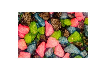 Pettex Roman Gravel Aquarium Gravel (Coloured Multi-Mix) (2kg)