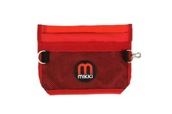 Interpet Limited Mikki Deluxe Training Treat Bag (Red) (One Size)