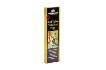 Tom Chambers Bird Table Stabiliser Pegs (Black) (One Size)