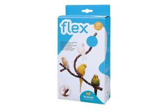 Ferplast Flex 4190 Adjustable Bird Cage Perch (Brown) (1.2cm)