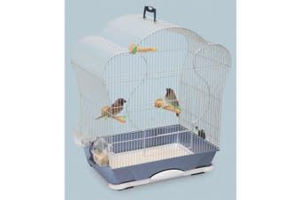 Savic Elise 40 Bird Cage (Silver) (52x32.5x60cm)