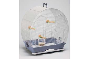 Savic Evelyne 30 Bird Cage (Silver) (43x28x47cm)