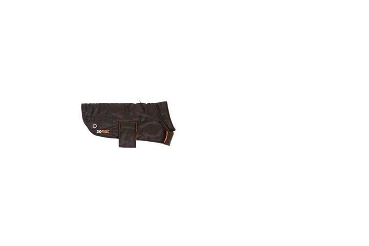 RAC Advanced Weatherproof Dog Coat With Plastic Bag Dispenser (Black) (M)