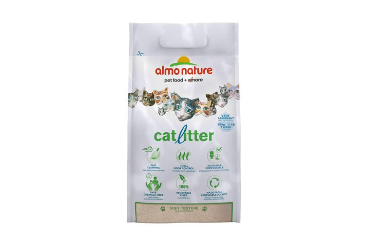 Almo Nature Biodegradable Clumping Cat Litter (May Vary) (2.27 kg)