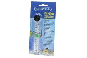 Interpet Easy Read Thermometer With Sucker (May Vary) (One Size)
