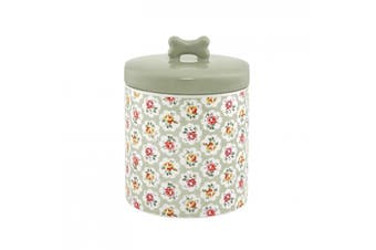 Cath Kidston Provence Rose Ceramic Dog Treat Jar (Multicoloured) (One Size)