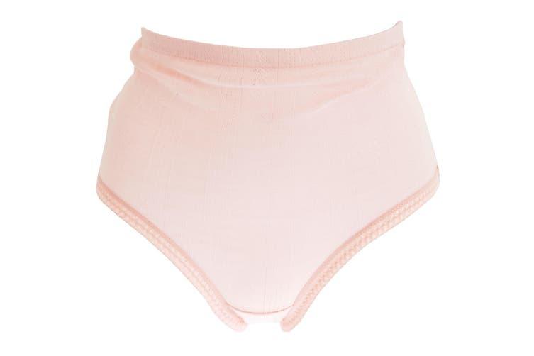 Passionelle Womens/Ladies Jacquard Pastel Cotton Briefs (Pack Of 3) (Pastel) (XXOS)