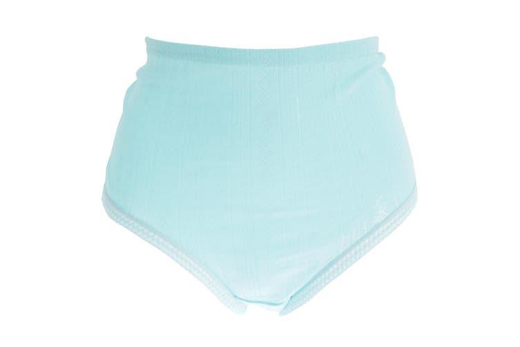 Passionelle Womens/Ladies Jacquard Pastel Cotton Briefs (Pack Of 3) (Pastel) (6XOS)