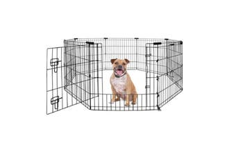 Yours Droolly Exercise Pen with Door 42-inches