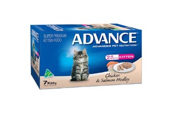 Advance Kitten Salmon Chicken