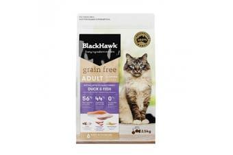 Black Hawk Feline Grain Free Duck Fish 1-2kg
