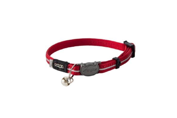 Rogz Alleycat Safeloc Collar Red S