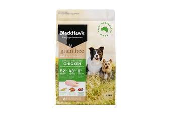 Black Hawk Dog Food Grain Free Chicken 2.5kg