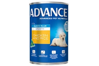 Advance Puppy Growth Chicken Rice Cans 12cans