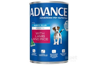 Advance Puppy Growth Lamb Rice Cans 12cans
