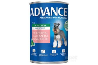Advance Adult Chicken Salmon Rice Cans 12cans