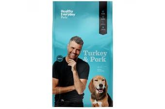 Healthy Everyday Pets Dog Turkey and Pork 3kg