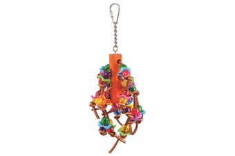 Kazoo Bird Toy With Beads Assorted