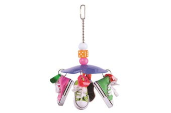 Kazoo Bird Toy With Sneakers and Dice