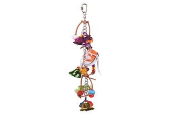 Kazoo Bird Toy With Sneakers and Bells