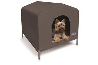Kazoo Cabana Dog House Cappuccino Ex Small