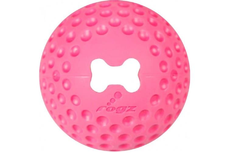 Rogz Gumz Ball Pink large