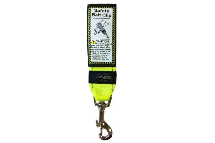Rogz Utility Safety Belt Clip Dayglow