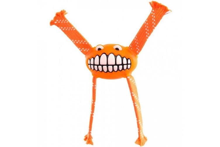 Rogz Flossy Grinz Toy Orange m
