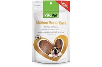 Vitapet Chicken Muesli Bar 100g
