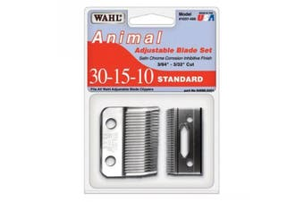 WAHL Animal Adjustable Blade Set - Standard (30-15-10)