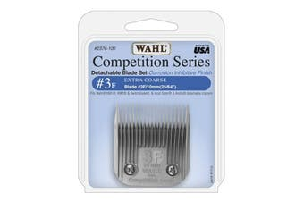 WAHL Competition Series Detachable Blade Set (#3F Extra Coarse 10mm) Animal