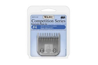 WAHL Competition Series Detachable Blade Set (#4 Skip Extra Coarse 8mm) Animal