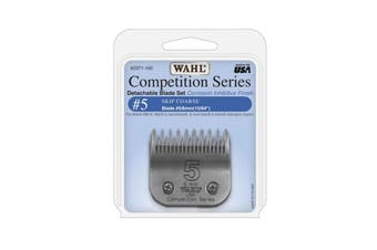 WAHL Competition Series Detachable Blade Set (#5 Skip Coarse 6mm) Pet Grooming