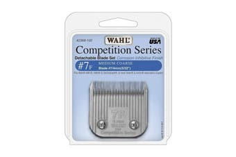 WAHL Competition Series Detachable Blade Set (#7F Medium Coarse 4mm) Animal