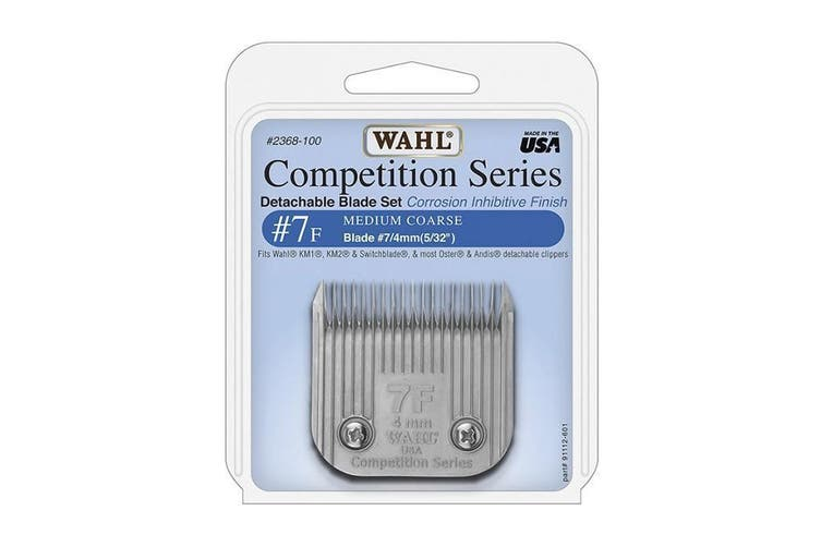 WAHL Competition Series Detachable Blade Set (#7F Medium Coarse 4mm) Animal